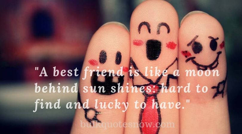 cute true friendship quotes image
