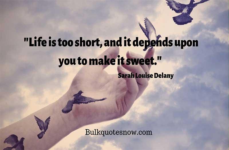 short inspiring life quotes