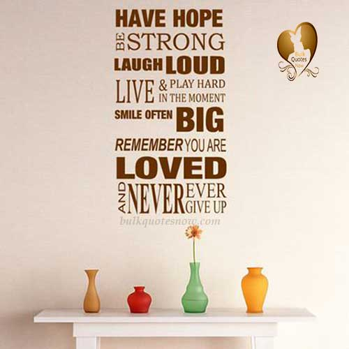 quotes about strength and hope