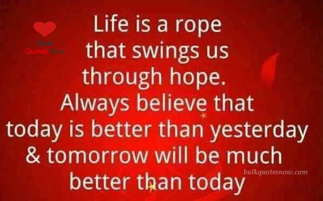 life is a rope