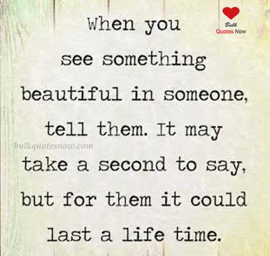 lifetime beautiful quotes