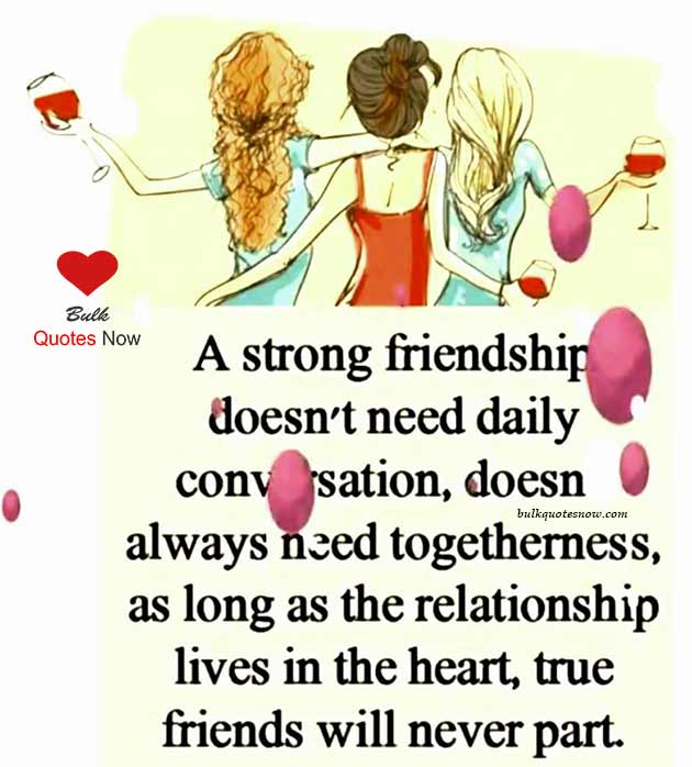 strong short friendship quotes