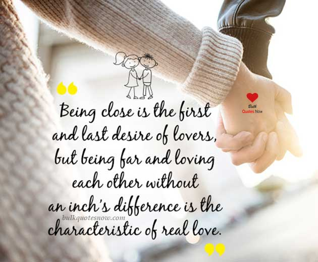characteristic of real love