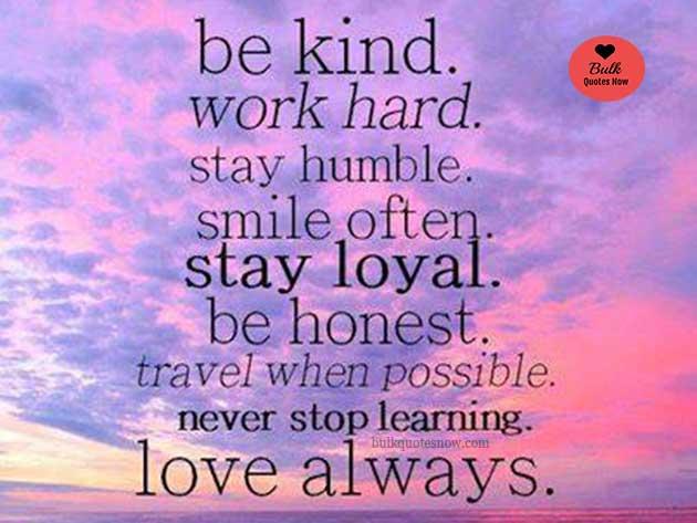 love always stay loyal