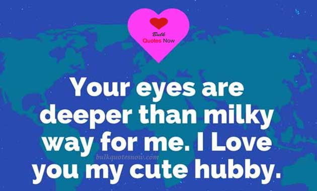 love quotes for my hubby