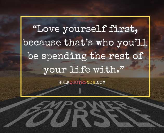 fall in love with yourself quotes