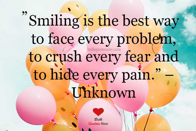 love smiling quotes