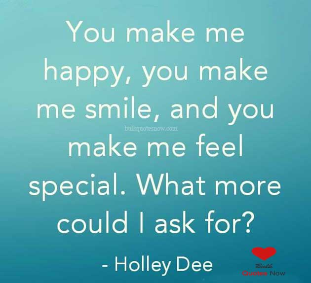 only you can make me happy quotes