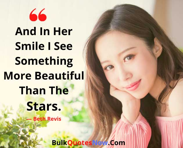 romantic you are beautiful quotes for her