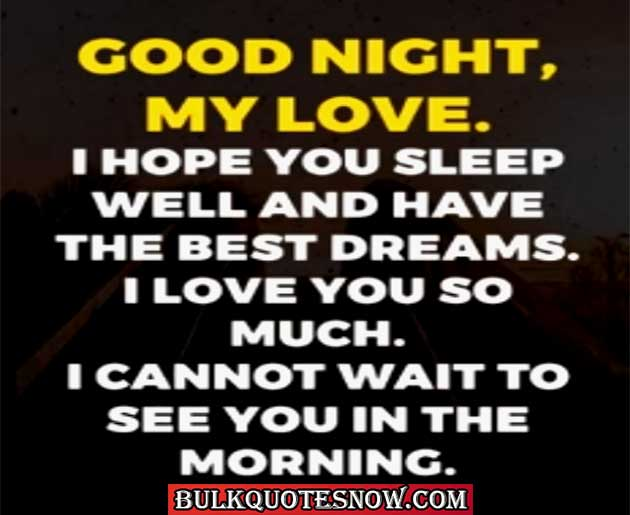 good night message for her long distance