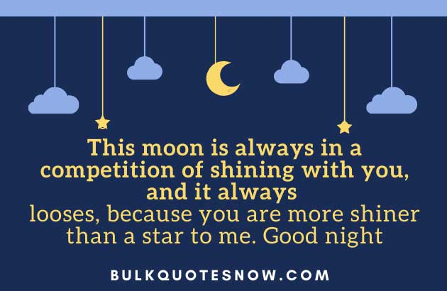 48 Good Night Quotes For Her From The Heart