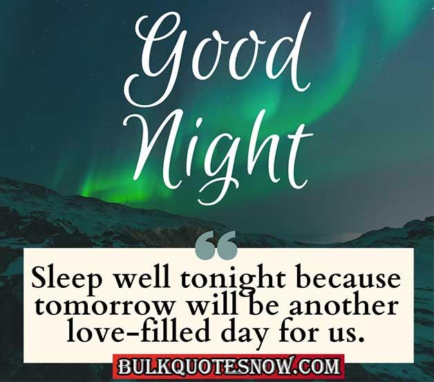 goodnight i love you