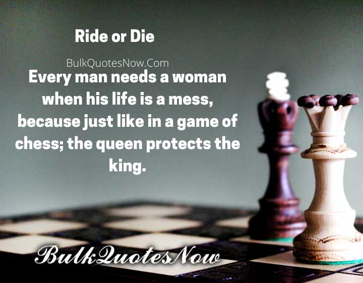 ride or die love quotes