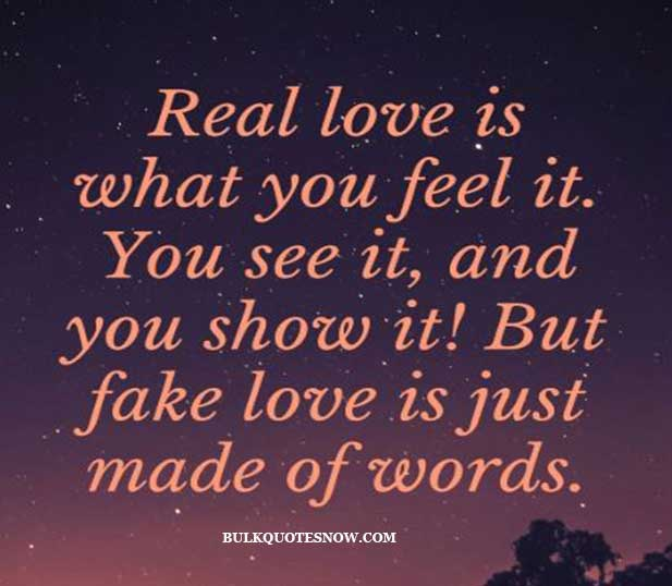 22 Fake Love Quotes and Sayings With Images