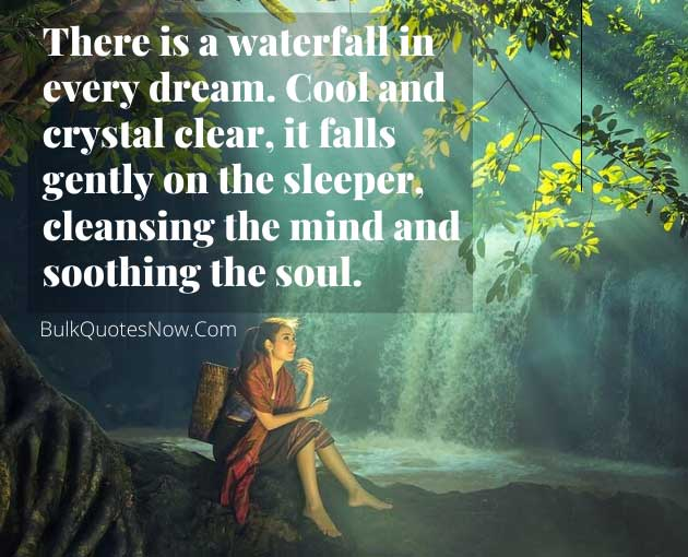 20 Beautiful Waterfall Quotes That Must Inspires You