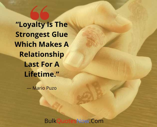What is loyalty