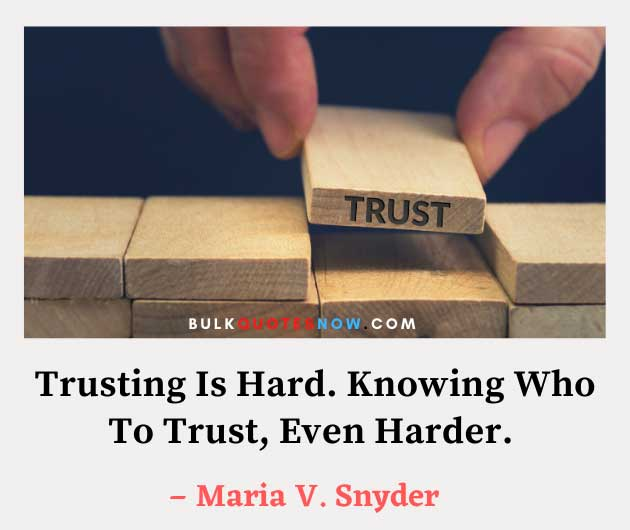dont trust quotes