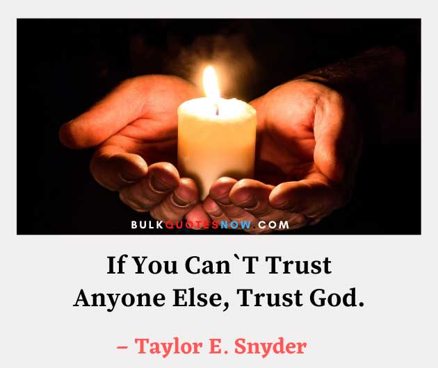 famous quotes about trust