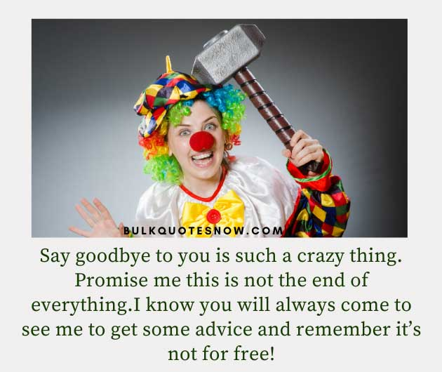 funny farewell quotes and sayings