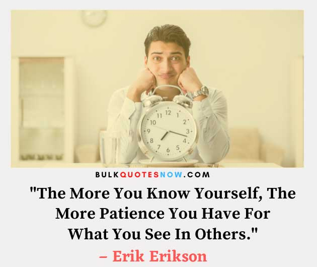 lessons of patience