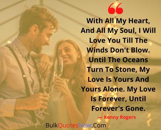 love you till death