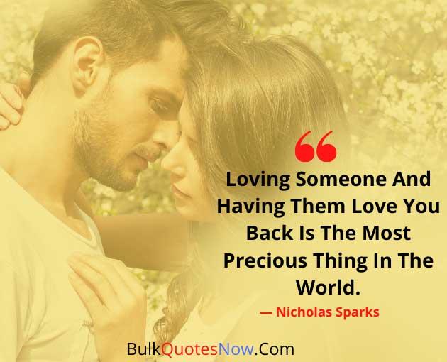 loving someone forever