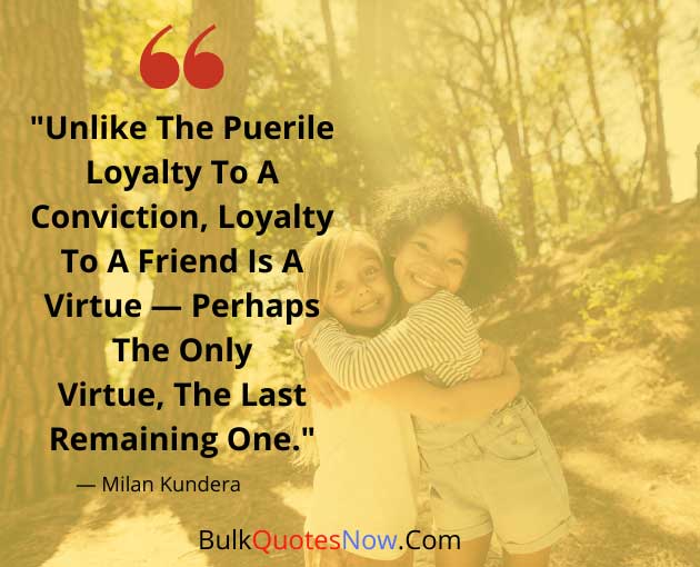 loyalty quotes about friends