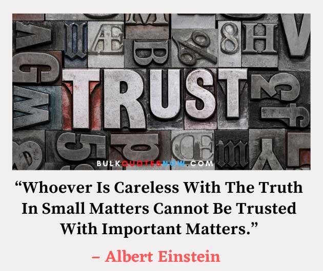 trust issue quotes