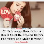 Sad Broken Heart Quotes Sayings