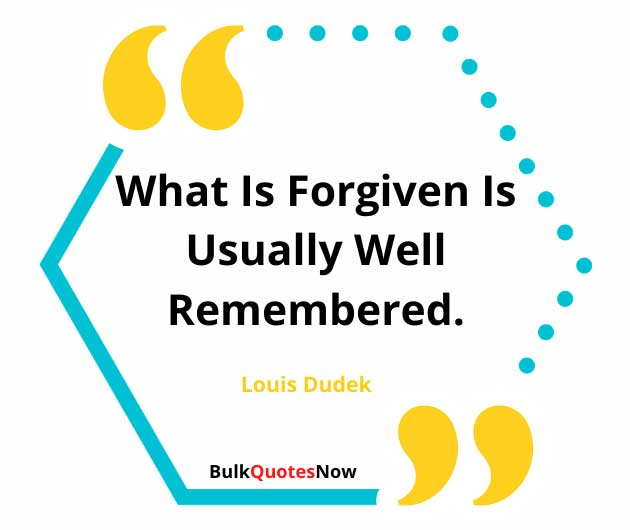 forgive and forget meaning