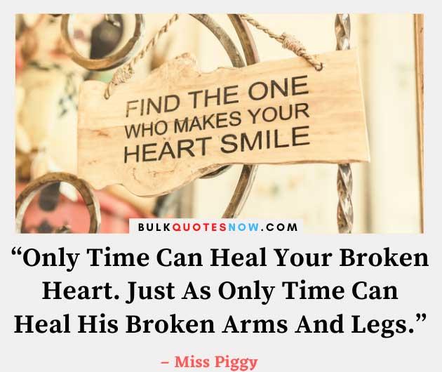 heart broken messages