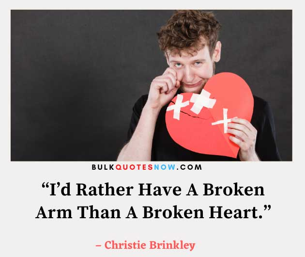 quotes about a broken heart