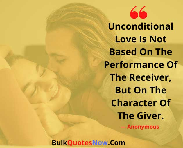 unconditional love quotes for wife