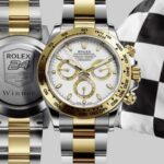 4 Silver Rolex Cosmograph Daytona Watches for Men