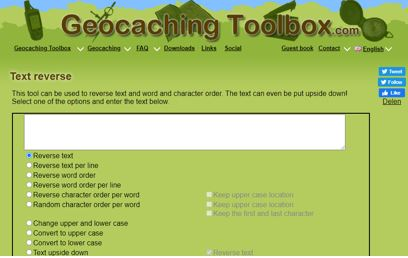 Geocachingtoolbox