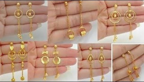 The gold earring for women in 2021