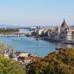 The Danube runs through Budapest