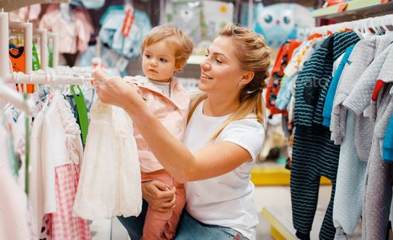 What are the tips to follow when buying kid clothes?