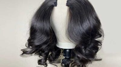 For complete hair loss, wigs