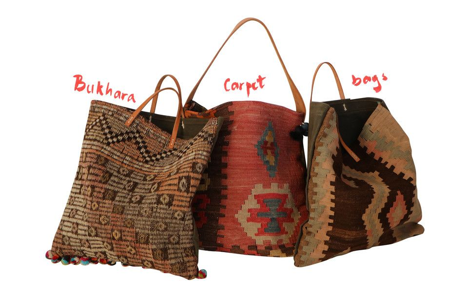 Variation in between the kilim bags and also hand-made bags